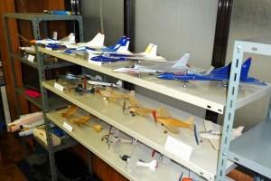 店主自慢の飛行機博物館