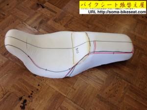 シートの整形と型取り
