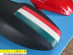 DUCATI(ドゥカティ) MONSTER M900 ieカスタムシートイタリア国旗付き2
