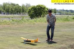 バイクシート張替え屋の手作りラジコン飛行機1