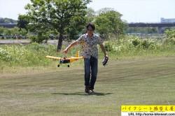 バイクシート張替え屋の手作りラジコン飛行機10