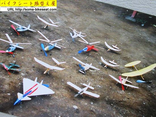手作り飛行機たち